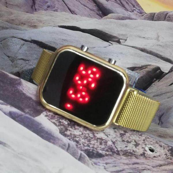 Besi LED Fully Digital Light Watch For Unisex New Arrival Stylish Good Quality Watch Magnet Strap Watch Awesome Color Edition With New Hertiage Design Malaysia