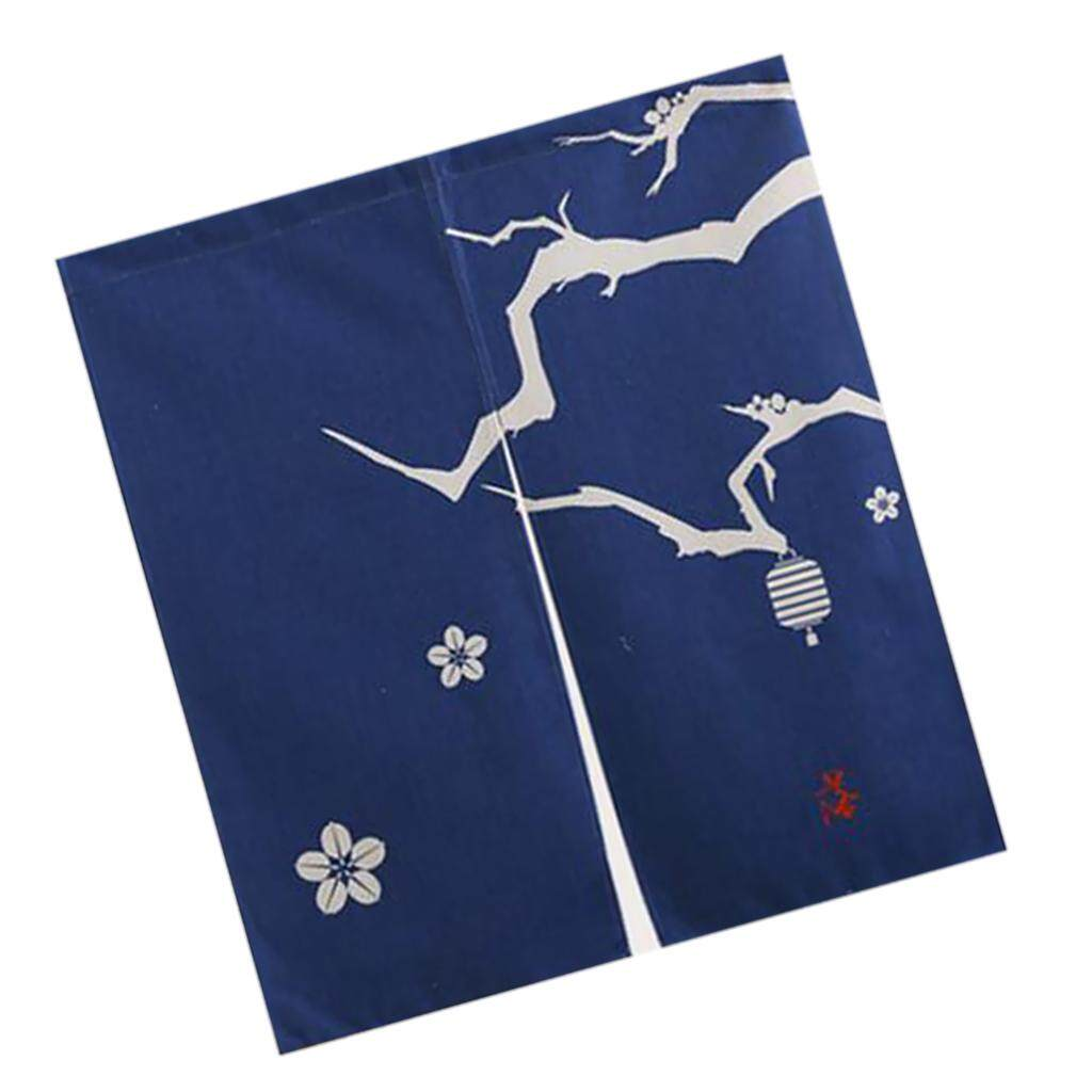 BolehDeals Japanese Design Door Noren Simple Pattern Room Half Curtain Cotton Linen Long / Short Type 7 Pattern Available