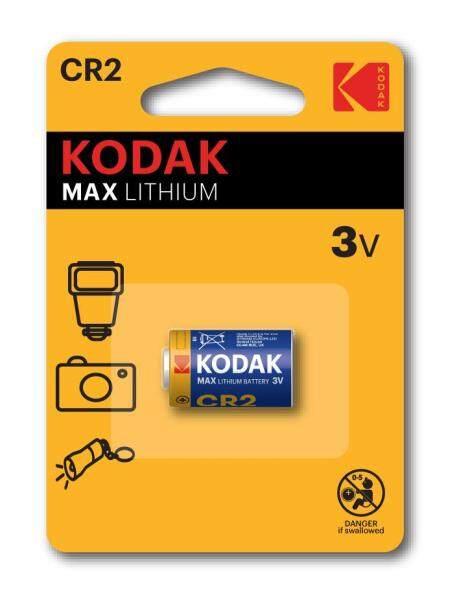 Genuine KODAK MAX CR2 Lithium Battery 3V Malaysia