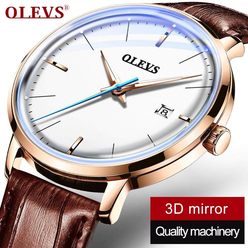 Nơi bán OLEVS nam dây Chính Hãng Đồng hồ cơ tự động nam phiên bản Hàn Quốc đơn giản thường ngày chống nước