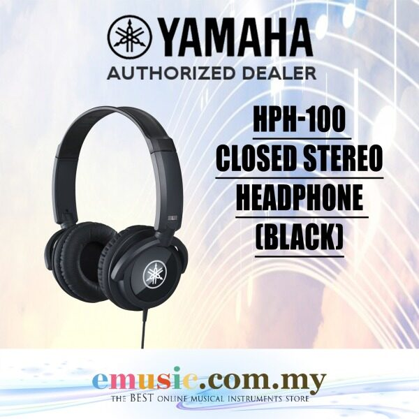 Yamaha HPH-100 Instrument Headphone (HPH100 / HPH 100) Malaysia