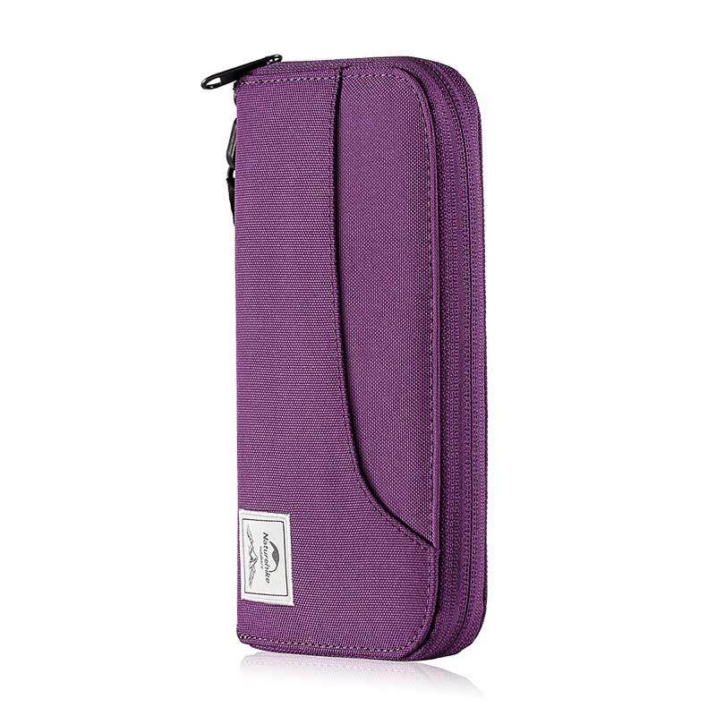 Naturehike Multifunctional Rfid Travel Wallet Ultralight Protable Travel Bag For Documents Credit Cards By Anheng Mall.