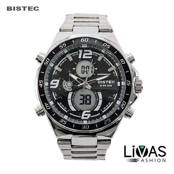 [NEW ARRIVAL] Original BISTEC Men Women Couple Watch Stainless Steel Premium Luxury Elegant Jam Tangan Malaysia