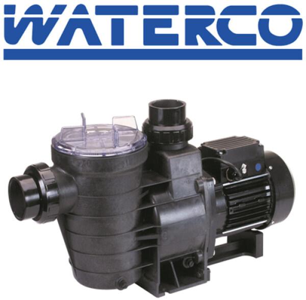 Waterco Supastream Pump (1Hp) - Single Phase, 50Hz 220-240V, 40Mm Barrel Union Connection