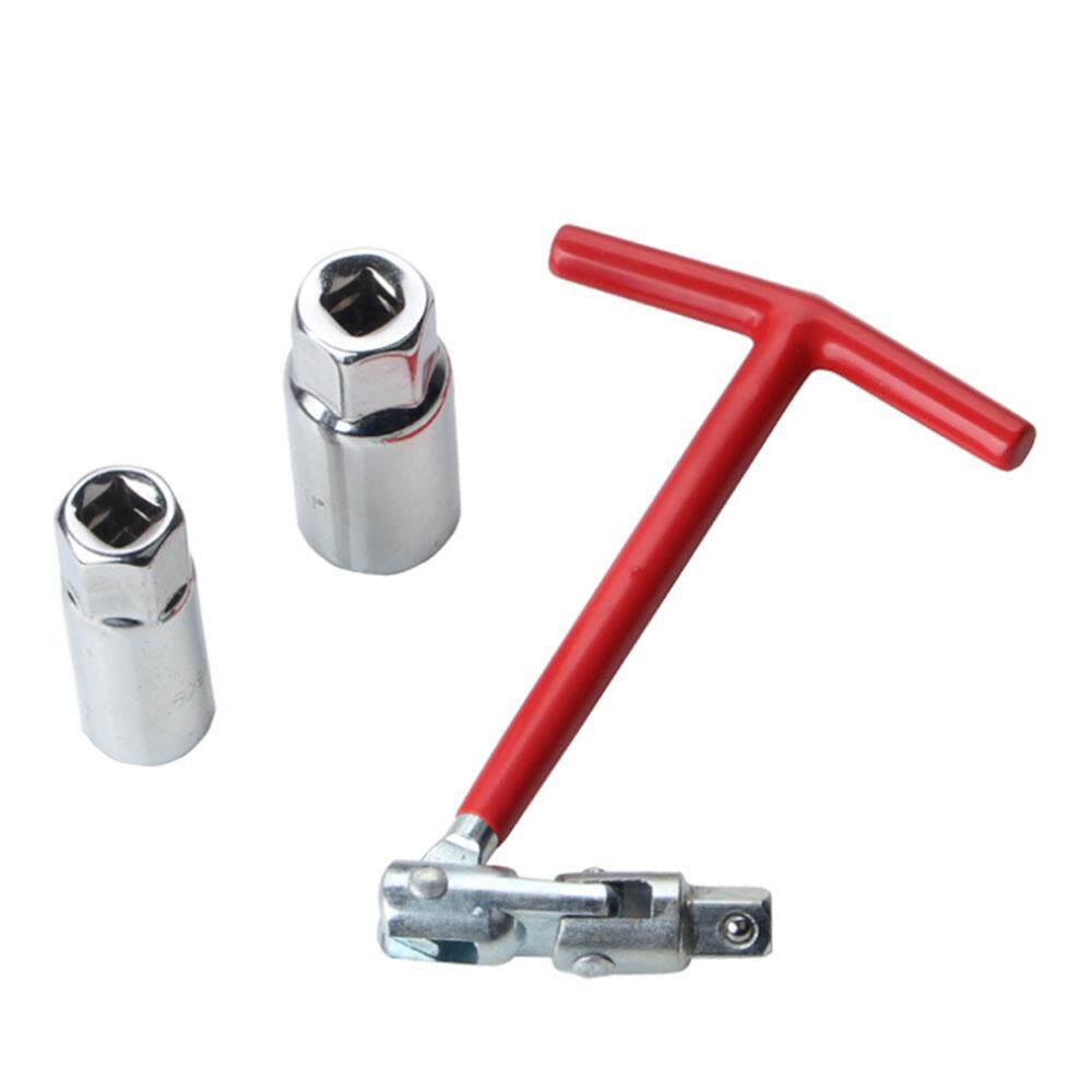 [livejoy] T - ที่จับบาร์หัวเทียนเครื่องมือกำจัด 16 มม. 21 มม. ข้อต่ออเนกประสงค์ที่ดีขึ้นสำหรับหัวเทียน Isolator ป้องกันการเก็บรักษา By Livejoy.