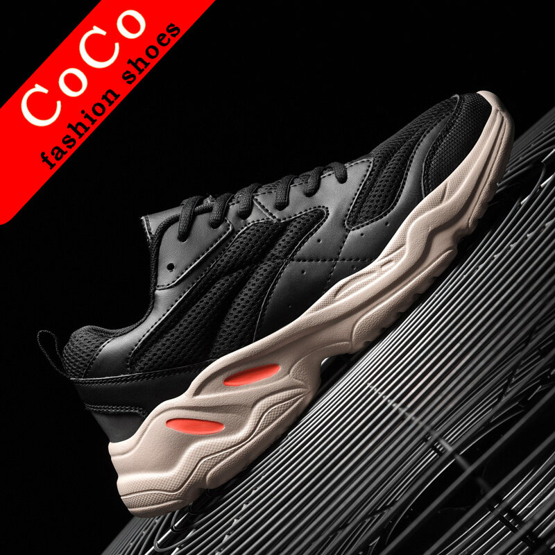 Plus Size Mens Running Shoes Breathable Sports Walking Athletic Sneakers Fashion