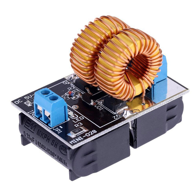 Giá 5V-12V Low Voltage ZVS Induction Heating Power Supply Module + Heater Coil