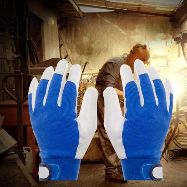 【Rainly Home】Insulation Gloves Breathable Parts Leather Gloves Safety Protection Anti-static Mechanical Electronics