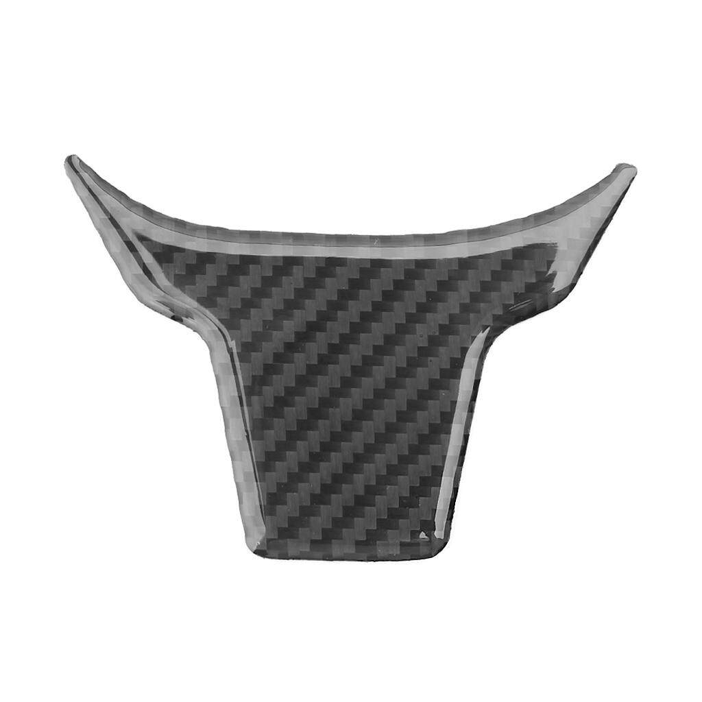 Carbon Fiber Car Steering Wheel Panel Cover Trim Decoration For 2016 2017 Honda Civic By Runrun123.
