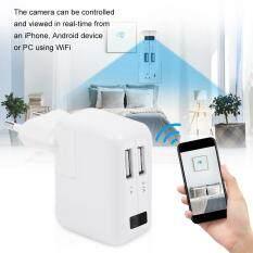 HD 1080 P Mini Che Khuyết Điểm Camera WiFi Giám Sát Adapter Camera Màn Hình Trắng 110-240 V