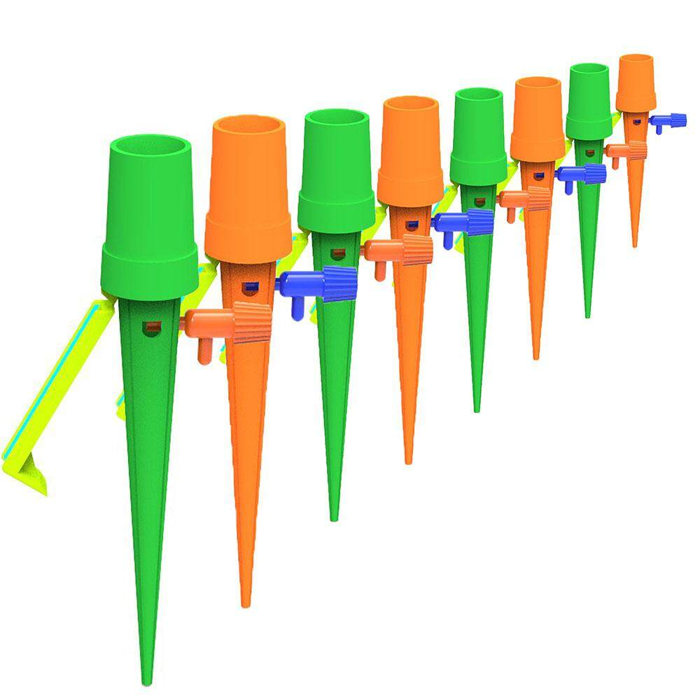 6 Pcs/12 Pcs Vacation Plant Waterer Plant Self Watering Spikes Automatic Watering Devices For Home Garden