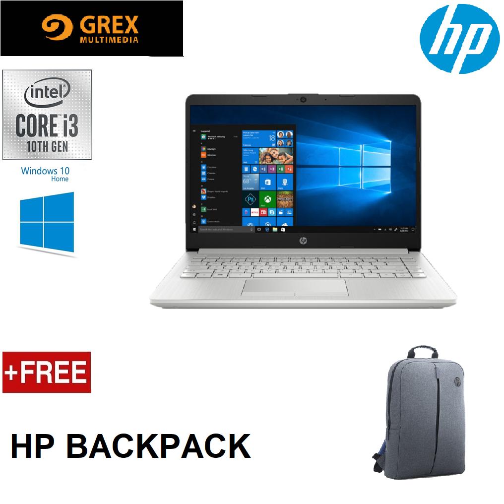 HP ESSENTIAL 15S-DU1033TU LAPTOP (I3-10110U,4GB,256GB SSD,15.6 HD,UHD GRAPHICS,WIN10 HOME) FREE BACKPACK Malaysia