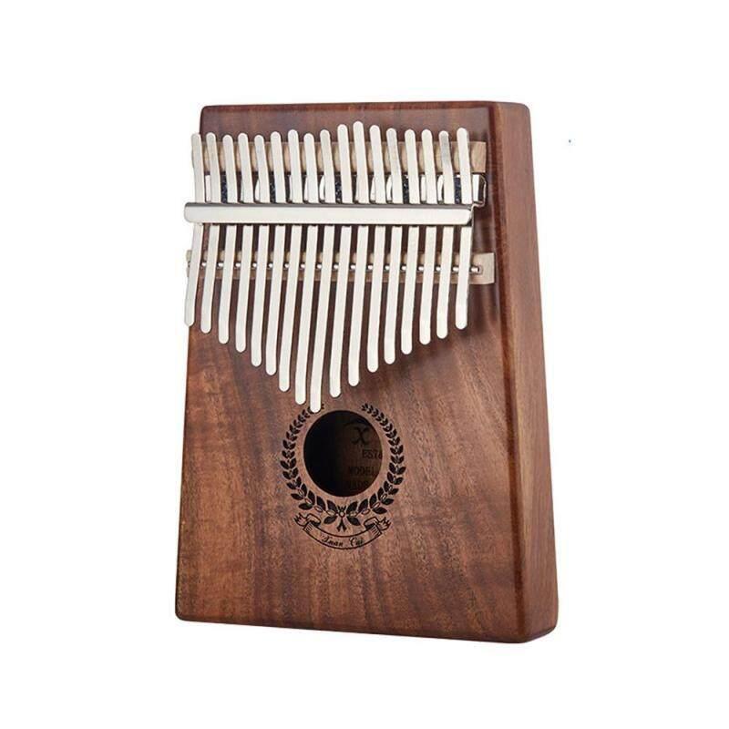 BuyBowie 17 Keys African Fingers Kalimba Thumb Piano Percussion Keyboard Mahogany Wood for Music Malaysia