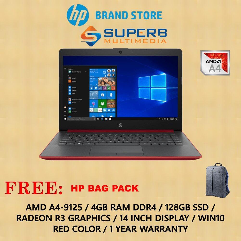 HP Laptop 14-cm0119au (A4, 4GB, 128GB SSD, Red) Malaysia
