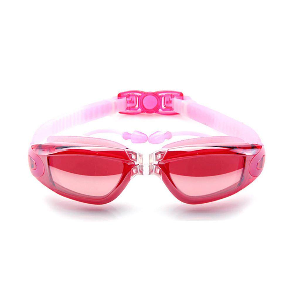 〖free Shipping〗waldenshop Anti-Fog Flat Light Big Box Swimming Goggles Men Women Adult Swimming Glasses By Waldenshop.