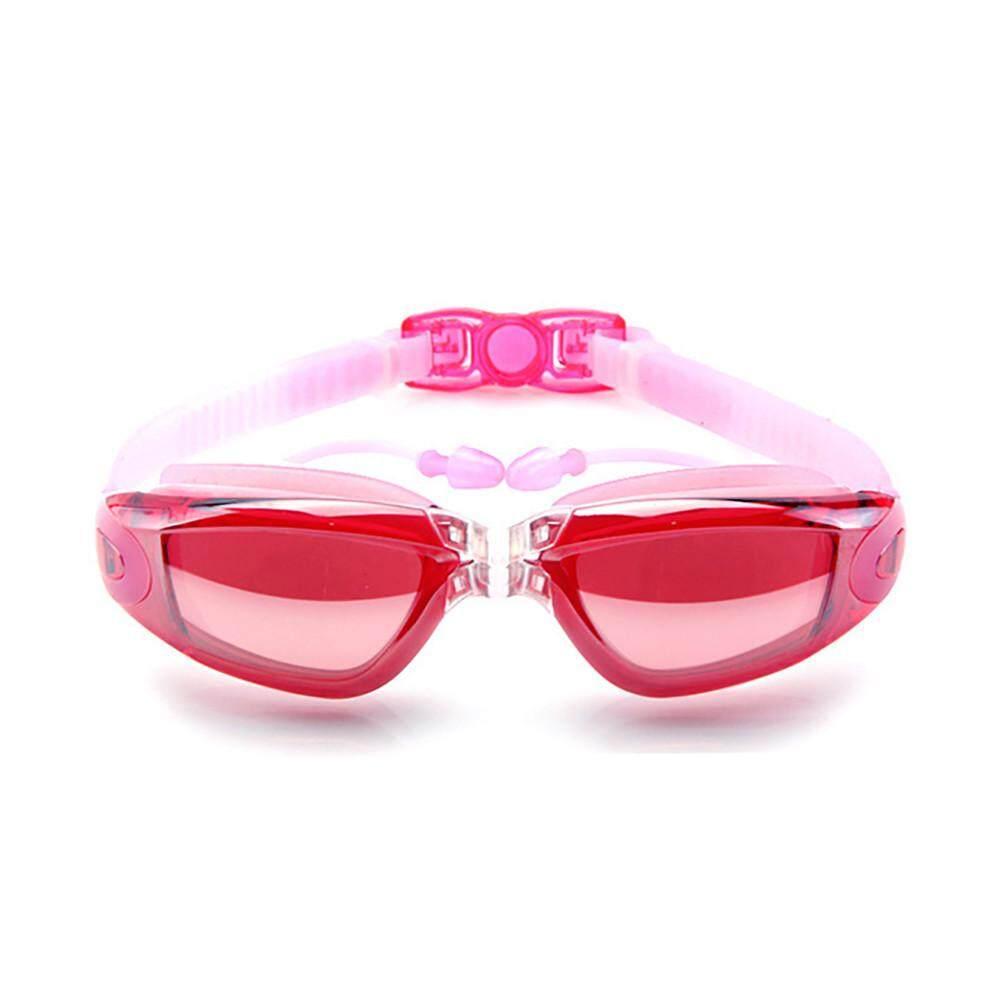〖free Shipping〗waldenshop Anti-Fog Flat Light Big Box Swimming Goggles Men Women Adult Swimming Glasses By Waldenshop.