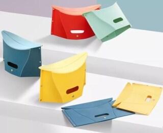 YXmi Folding Retractable Chair Outdoor Folder Shape Traveling Cmaping Fishing Chair thumbnail