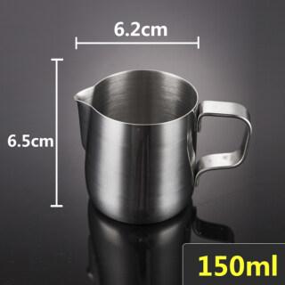 Fantastic Bình Tạo Bọt Sữa Bằng Thép Không Gỉ Cho Nhà Bếp Bình Pha Cà Phê Espresso Bình Tạo Bọt Sữa Cà Phê Latte Thủ Công Cho Barista thumbnail
