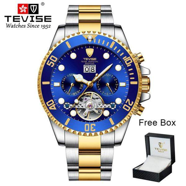 Top Deals Multi-function Waterproof Mechanical Watch New Mens Automatic Watch Malaysia