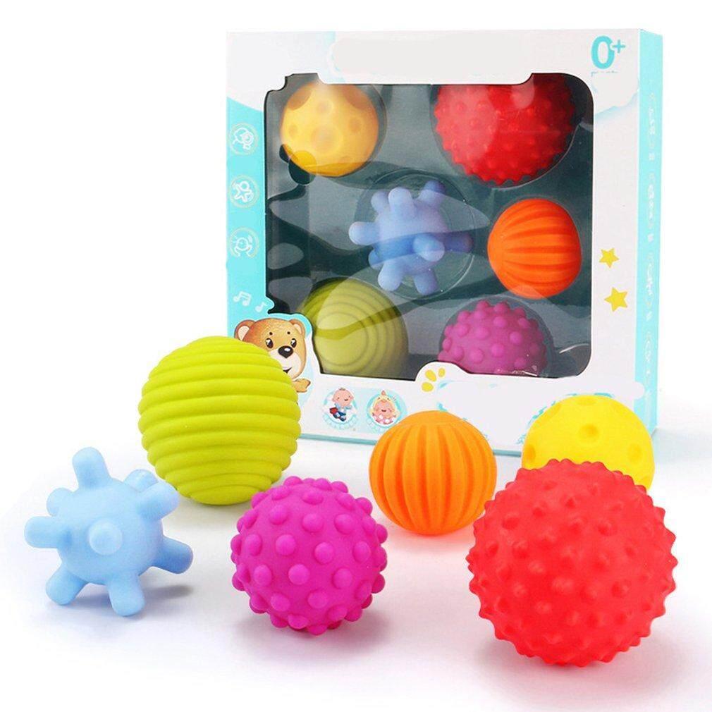 Allwin 6 Pcs เด็กสัมผัสลูกบอลประสาทสัมผัสของเล่นเด็ก Early ของเล่นเพื่อพัฒนาการ By Allwin2015.