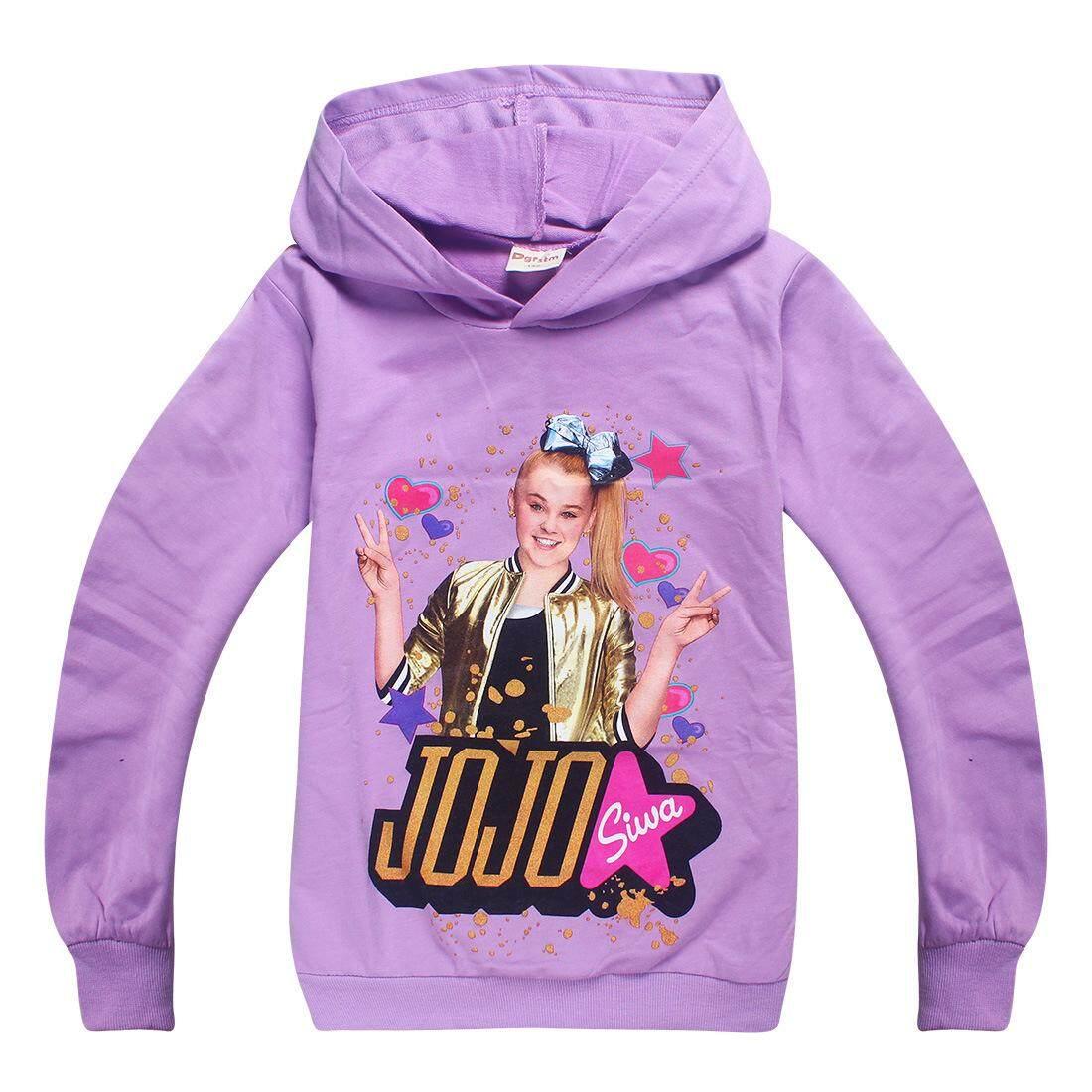 acd85ac36 Jojo Siwa Cute Kids Girl Long Sleeve Pullover Sweatshirt Hoodie Tops Shirt