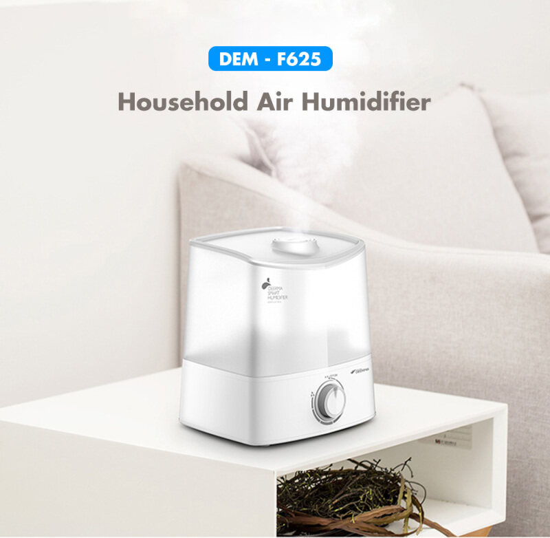 Original Xiaomi Deerma DEM - F625 With Aromatherapy box 6L Large Capacity Cool Mist Mute Air Humidifier air purifier aromatherapy diffuser Household Singapore