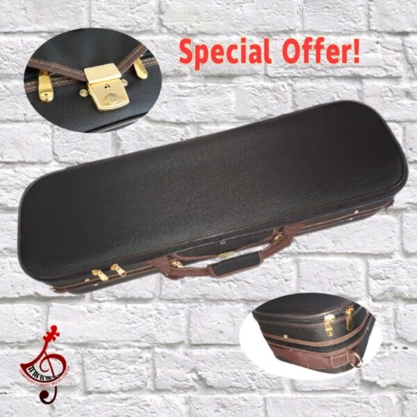 VIOLIN CASE BROWN COLOUR- beautiful and deluxe case Malaysia