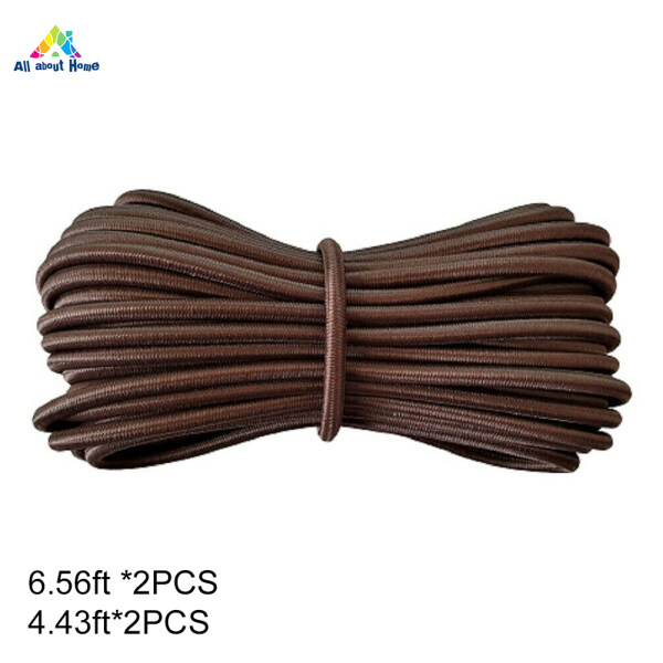 ABH 4 Pcs Elastic Cord Stable for Zero Gravity Reclining Garden Sun Lounger Chairs