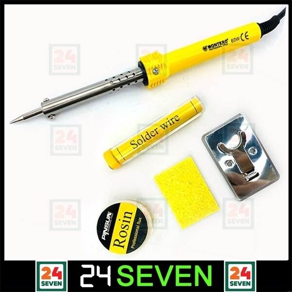 TWENTYFOURSEVEN - 5PCS MONTERO 60W Soldering Iron Set With Accessories