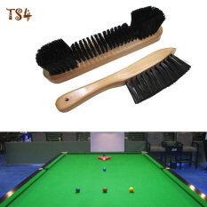 Bộ 2 Set Bộ Cặp Đôi Đường Sắt Cảm Thấy Bàn Chải Bụi Billiard Snooker Bể Bàn Bằng Gỗ Bền Dụng Cụ