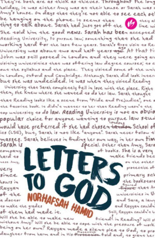 Borders Letters To God By Norhafsah Hamid By Borders.