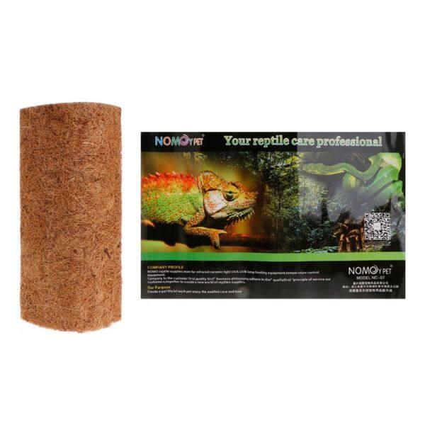 Hộp Bò sát Pad Đệm cảnh quan Thảm mềm thoáng khí Thảm xơ dừa tự nhiên cho thằn lằn rắn nhện