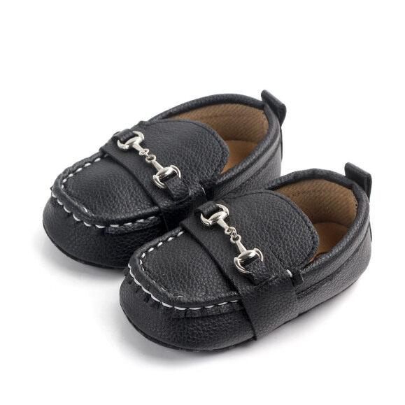 Giày lười đế mềm bao đầu đi thường ngày cho bé trai tập đi màu trắng màu đen hoặc mùa nâu tùy chọn - INTL giá rẻ