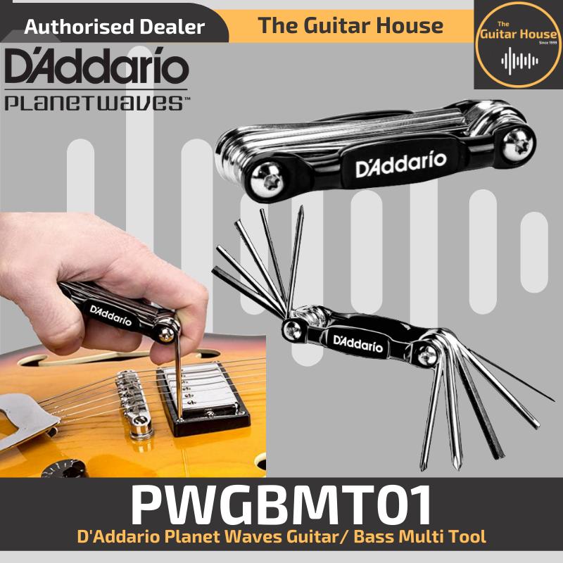 D/'ADDARIO PW-GBMT-01 Multitool für Gitarre und Bass
