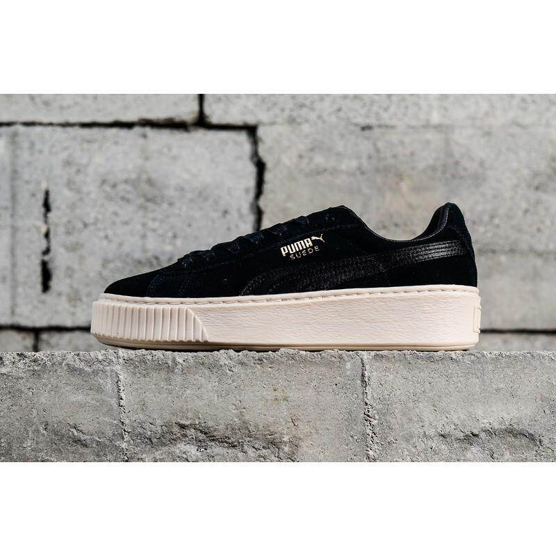 outlet store ed533 97190 Puma Fenty Creepers Black price in Singapore