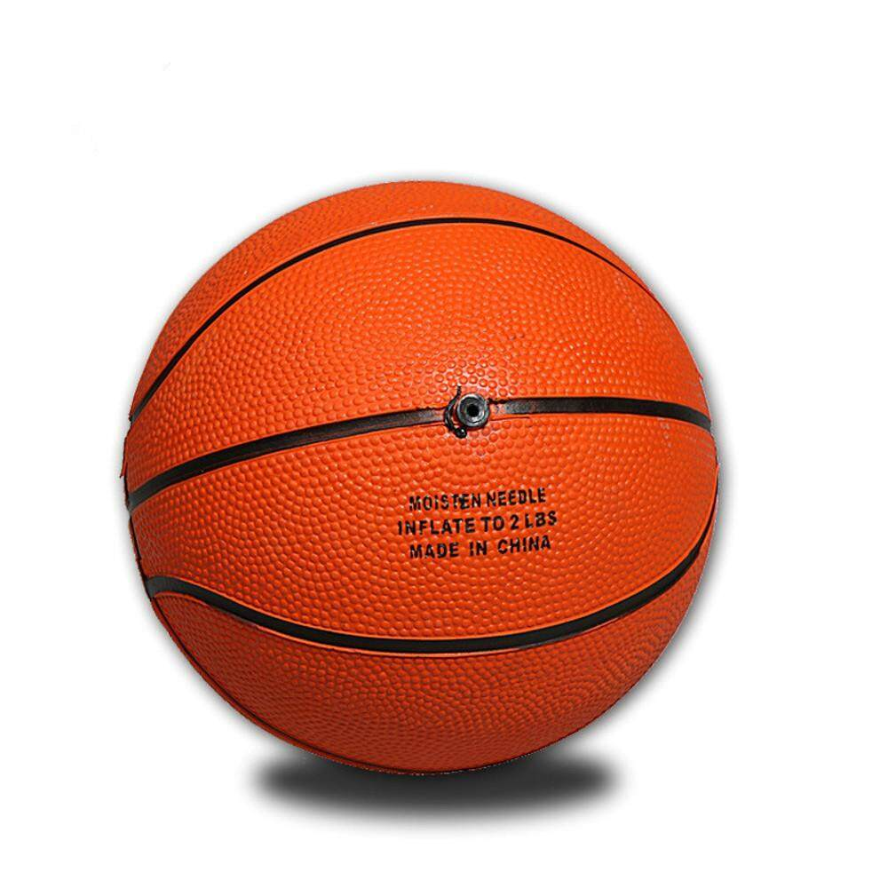 Mini Yellow Basketball Rubber Training Small Size For Indoor Mini Basketball By Kosekylin.
