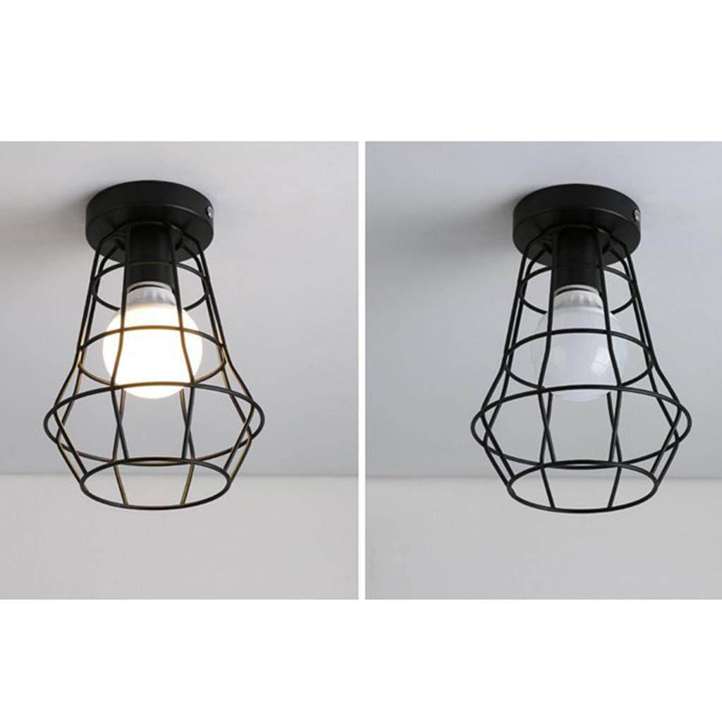 BolehDeals Vintage Retro Style Iron Ceiling Pendant Lampshade Light Shade Home Decor