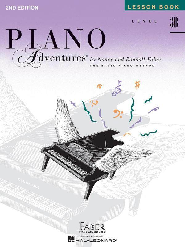 LEVEL 3B – LESSON BOOK – 2ND EDITION Piano Adventures® Malaysia