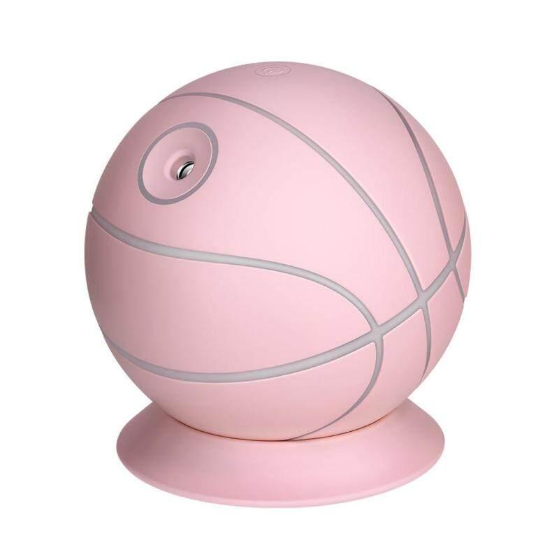 Creative Basketball Humidifier Light USB Mute Air Purifier Mist Diffuser Singapore