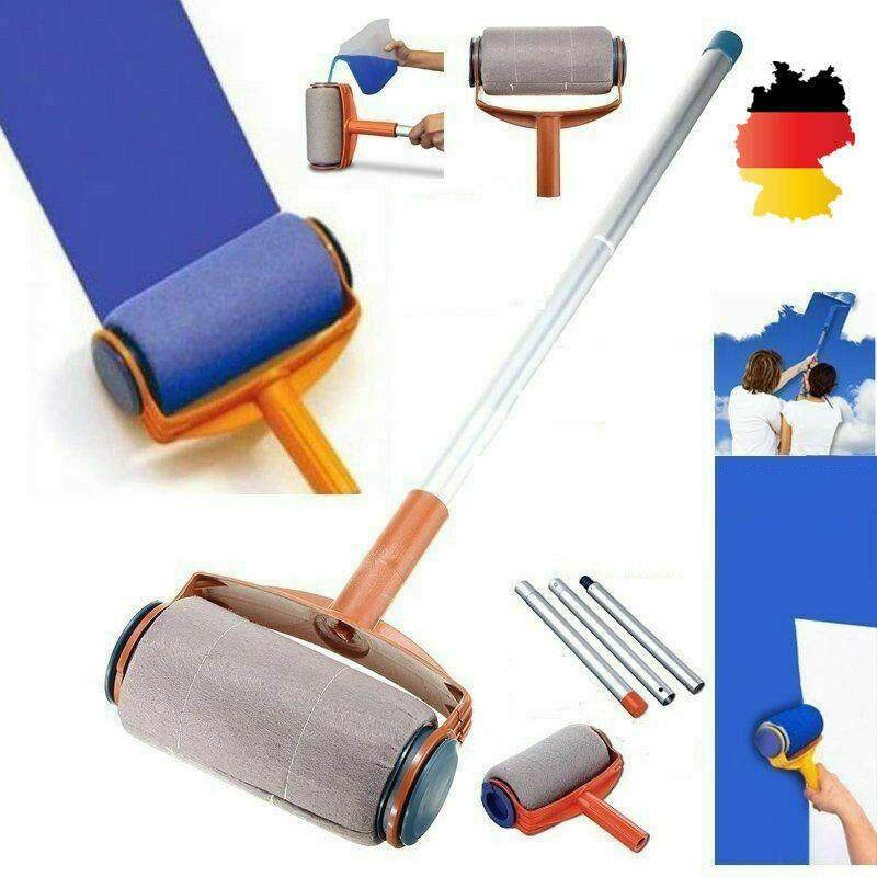 Magic Roller Handle Brush Multifunctional Household Long Paint Roller AS SEEN ON TV