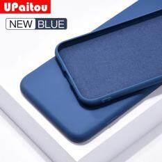 UPaitou Silicon Dành Cho iPhone 11 Pro XS Max XR X 8 7 6S 6 Plus Màu Kẹo cặp đôi Dành Cho iPhone 11Pro Max Ốp Lưng