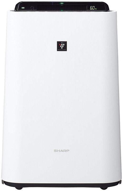 Sharp humidified air cleaner plasma cluster 7000 Standard 13 tatami / air purifier 23 tatami mats pollen White KC-H50-W Singapore