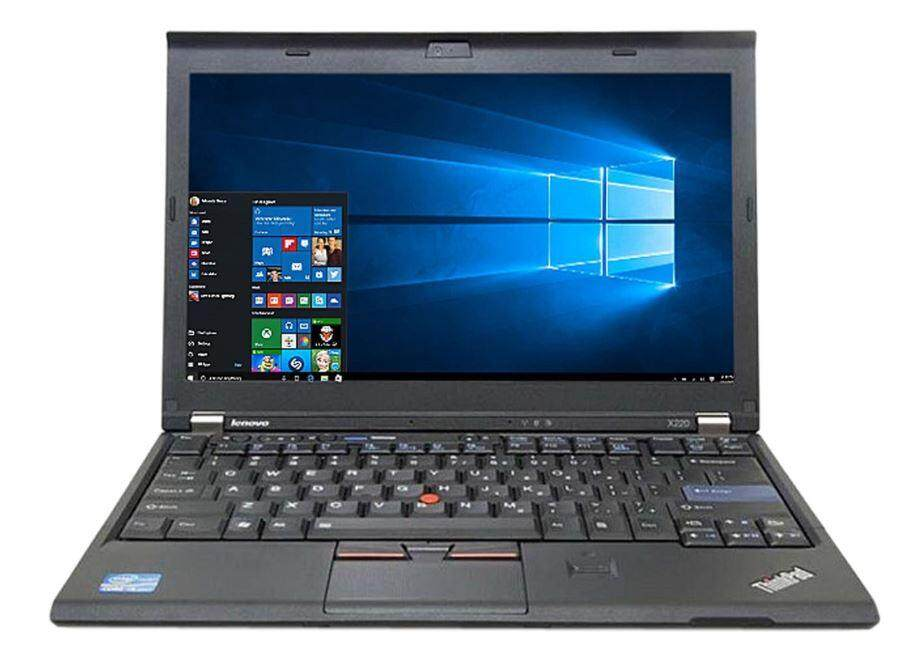 Refurbished Lenovo Thinkpad X220 / Intel Core i5 / 8GB RAM / 256GB SSD / Windows 7 / One Month Warranty Malaysia