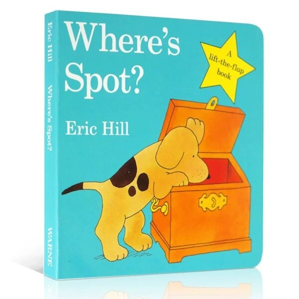 Wheres Spot? Board book Spot - (White Cover Version) Original Lift the Flap English By Eric Hill Malaysia