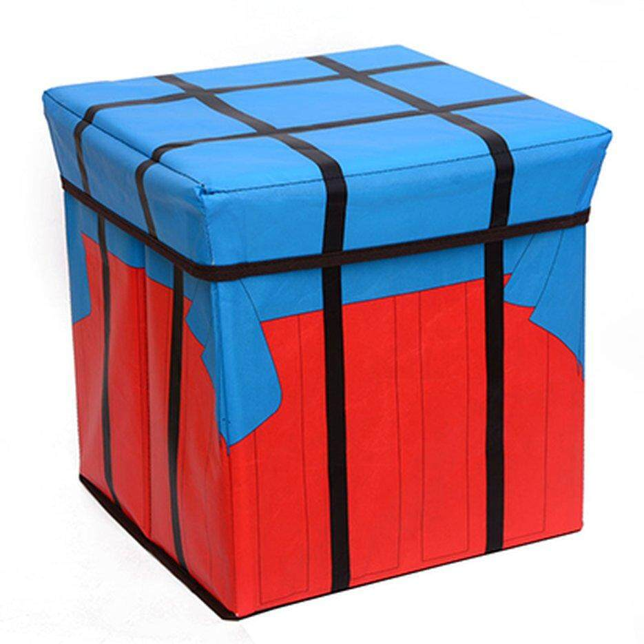 Hot Sellers Square with lid folding storage stool
