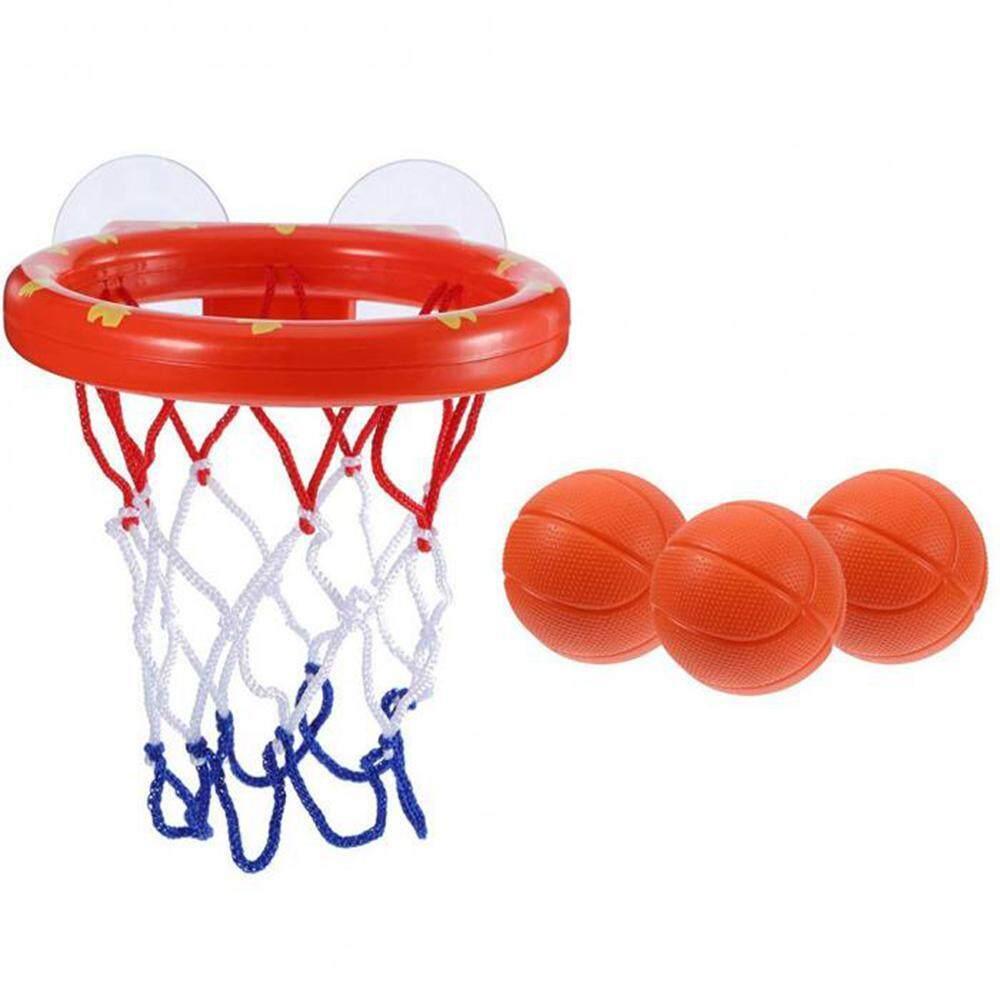Lightsmile Mainan Mandi Ring Basket & Bola Set Kamar Mandi Kantor Bola Playset Untuk Anak Laki-Laki Anak Perempuan Bocah Balita Outdoor Indoor By Lightsmile.