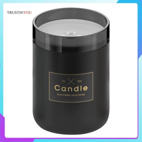 280ML Aromatherapy Mist Maker with Ambient Light Mini Desk Car Candle Humidifier with Ambient Light Singapore