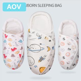 Túi ngủ cho bé sơ sinh, chăn cho bé100% cotton 0-3 tháng - INTL thumbnail