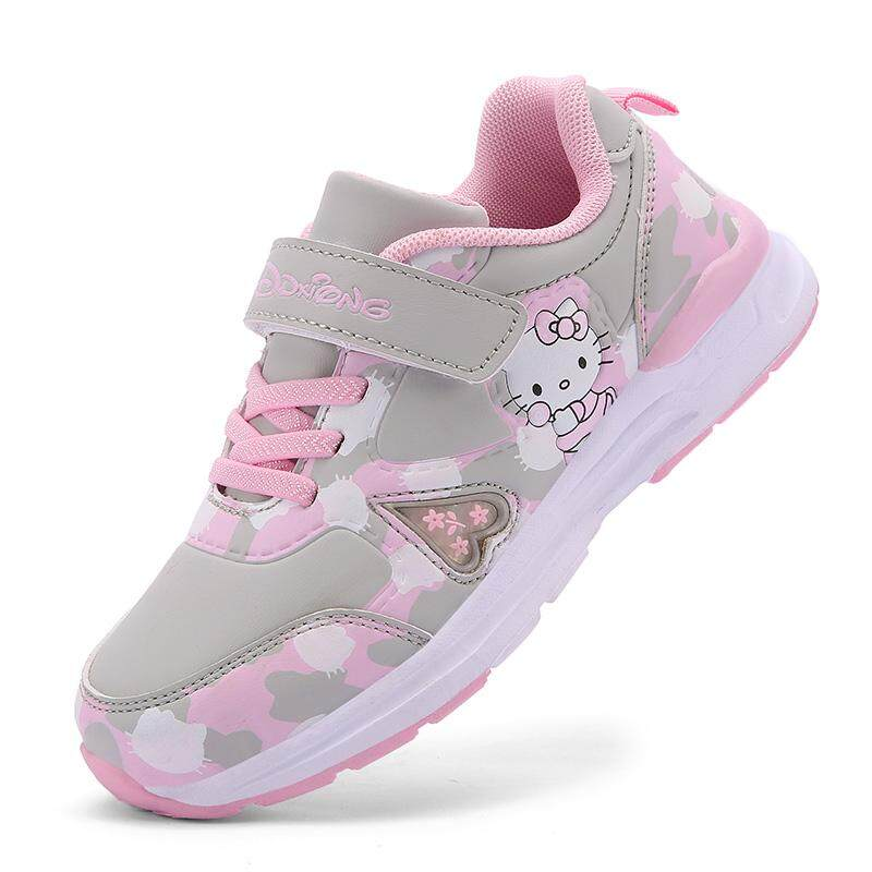 Kids Girls Shoes 2019 New Arrival Autumn Winter Han Edition Sneakers Casual  Leather Sport Shoes (Little Kids/Big Kids)