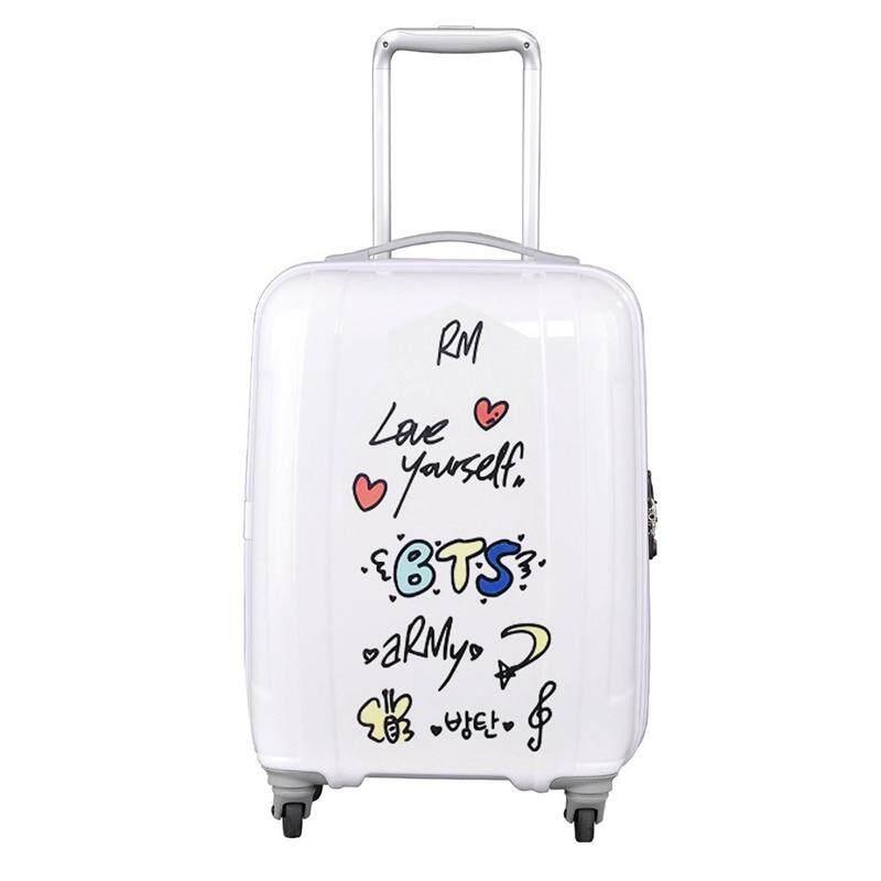 Candy Korea Pop Bangtan Boys Bts Self-Adhesive Transparent Suitcase Sticker By Mycsndice